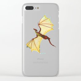 Free Flying Clear iPhone Case