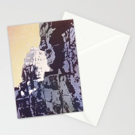 Watercolor of Khmer/Buddhist temple of the Bayon at Angkor Wat ruins- Siem Reap, Cambodia Stationery Cards