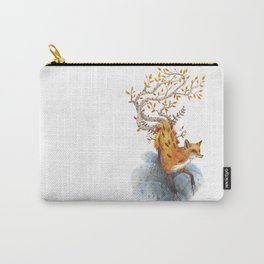 Fox Tree Carry-All Pouch