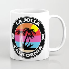 Surf La Jolla California Coffee Mug