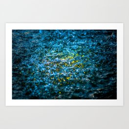Water Color - Yellow Art Print