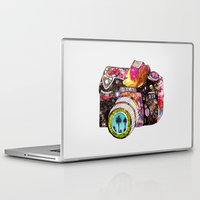 goku Laptop & iPad Skins featuring Picture This by Bianca Green