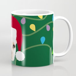 French Bulldog Santa Coffee Mug