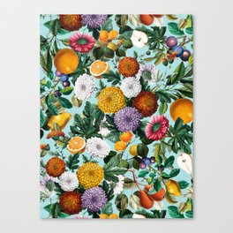 Summer Fruit Garden Canvas Print