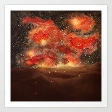 Beautiful Galaxy III Art Print