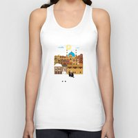 morocco Tank Tops featuring Marrakech, Morocco  by Design4u Studio