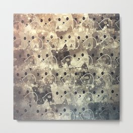 cats-41 Metal Print