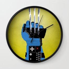 Power Glove Love: Wolverine Wall Clock