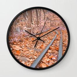 Abandoned Susquehanna Railroad - Fantasy Express Wall Clock