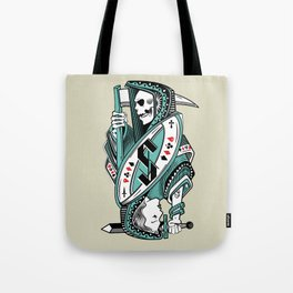 Death card Tote Bag