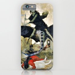 The Plague - Arnold Bocklin iPhone Case