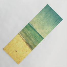 Seascape Vertical Abstract Yoga Mat
