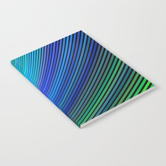 Surfing in a magic wave Notebook