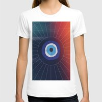 evil eye T-shirts featuring Evil Eye by DuckyB