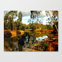 Reflective Light Canvas Print