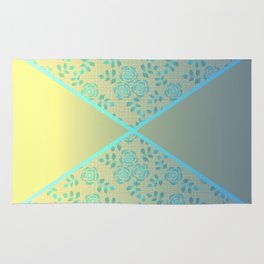 The combined pattern Rug