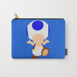 Blue Toad (Super Mario) Carry-All Pouch