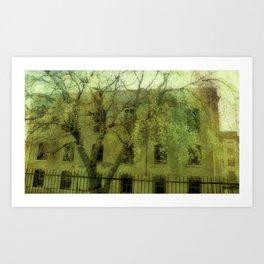 County Jail Art Print