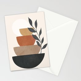Branch and Balancing Elements Stationery Cards