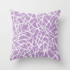 Kerplunk Orchid Throw Pillow