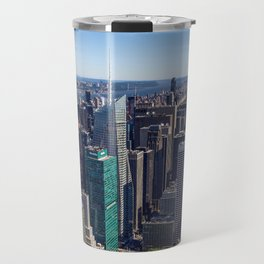New York City at Empire State Building Travel Mug