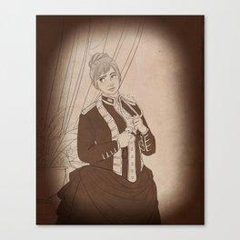 the esteemed dr watson Canvas Print