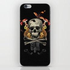 Hard Skull iPhone & iPod Skin