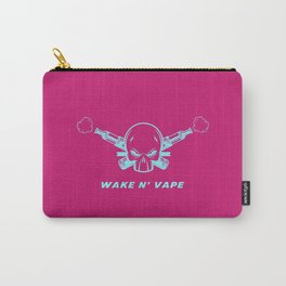 Wake And Vape Vaping Carry-All Pouch