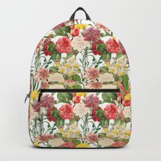 Vintage Floral Pattern | No. 1B Backpack