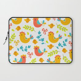 Easter Little Peeps Baby Chicks Pattern Laptop Sleeve