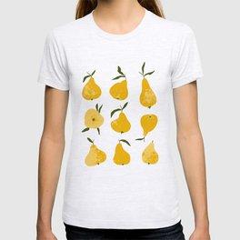 Yellow pear T-shirt