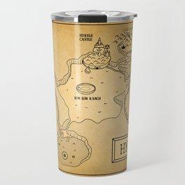 Hyrule Map  OOT Travel Mug