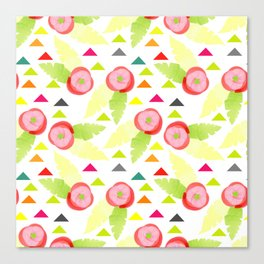 Colorful Spring rolls Canvas Print