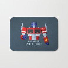 Autobots, Roll out! (Optimus Prime) Bath Mat