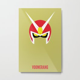 Viewtiful Joe - Voomerang Metal Print