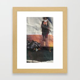 Fire and Desire Framed Art Print