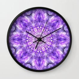 Light of Hope Mandala Wall Clock