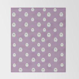 Pom Pup Polka Dot Throw Blanket