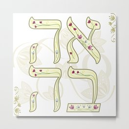 Ahava Metal Print