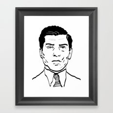 Charles 'Lucky' Luciano Framed Art Print