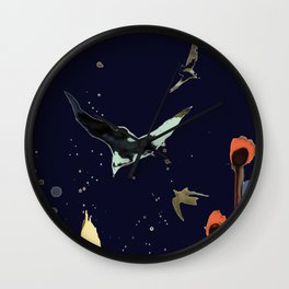 vol de nuit Wall Clock