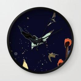 vol de nuit Wall Clock