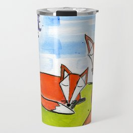 Fox Nap Travel Mug