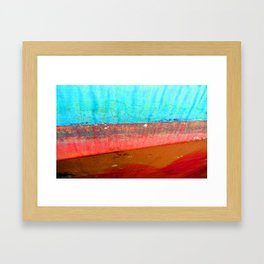 Tide Out Framed Art Print