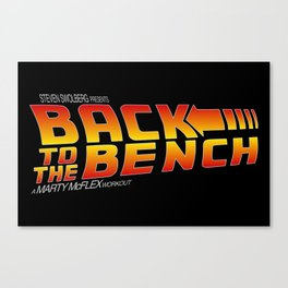 Back to the Bench Canvas Print
