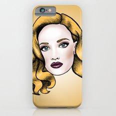 Blonde beauty Slim Case iPhone 6s