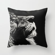 The Once and Future King (Lion) Throw Pillow