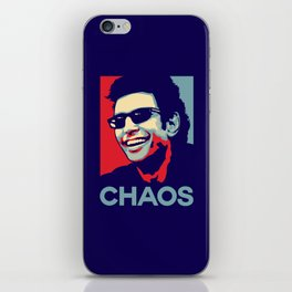 'Chaos' Ian Malcolm (Jurassic Park) iPhone Skin