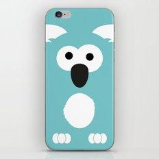 Minimal Koala iPhone & iPod Skin