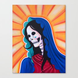 Dia de los Muertos - La Dolorosa Canvas Print